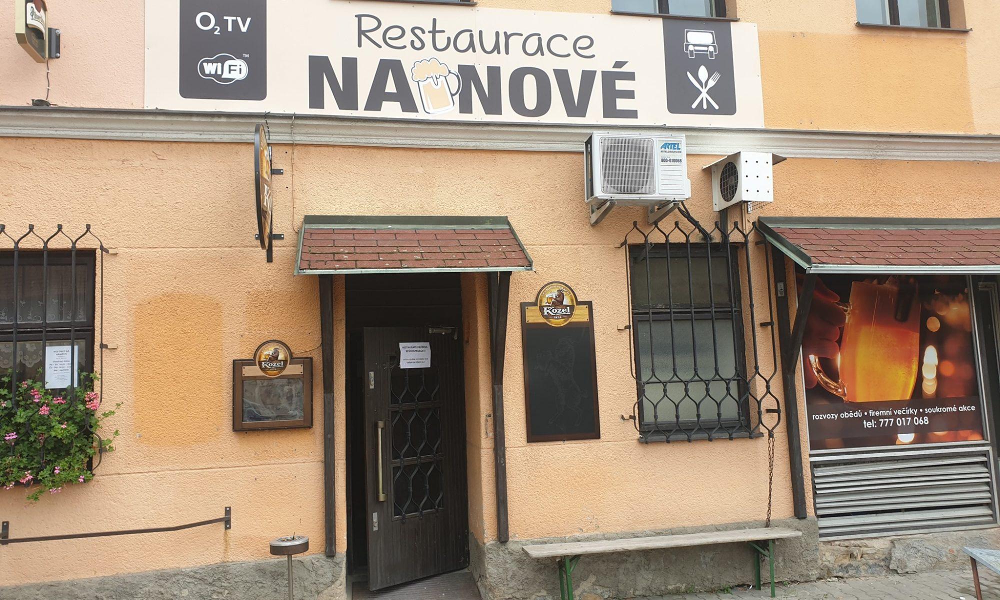 Restaurace na Nové